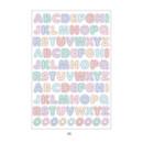 05 - PLEPLE Alphabet gradation paper deco sticker sheet