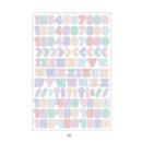 05 - PLEPLE Number gradation paper deco sticker sheet