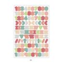 03 - PLEPLE Number gradation paper deco sticker sheet