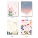 Option - Ardium Soft small lined notebook 128 pages