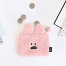 Rabbit - Iconic Furry buddy zipped card case holder
