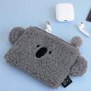 Koala - Iconic Furry buddy zipped card case holder