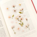 Usage example - Appree Cherry blossom pressed flower deco sticker