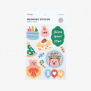 Package - Dailylike Party bear removable paper deco sticker