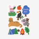 Dailylike Animal kingdom removable paper deco sticker