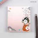 Myeong Wol - Jetoy choo choo cat memo notes writing pad ver2