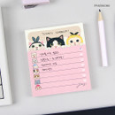 Ppaekkomi - Jetoy choo choo cat memo notes writing pad ver2