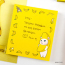 Nana choo - Jetoy choo choo cat memo notes writing pad ver2