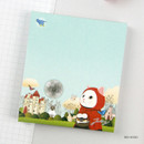 Red Hood - Jetoy choo choo cat memo notes writing pad ver2