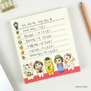 Fruits choo - Jetoy choo choo cat memo notes writing pad ver2