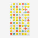 Dailylike Smile hologram removable sticker