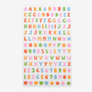 Dailylike Alphabet hologram removable sticker