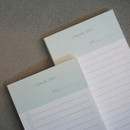 Checklist - N.IVY Today is grid free memo notepad checklist