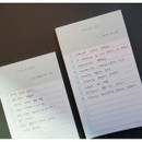 Usage example - N.IVY Today is grid free memo notepad checklist