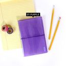 Purple - Jam Studio Moa Moa slip in pocket photo name card album