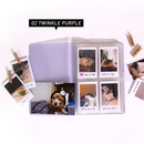 Twinkle purple - Jam Studio Moa Moa slip in pocket photo name card album