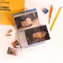 Usage example - Jam Studio Moa Moa slip in pocket postcard photo album