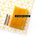 Yellow - Jam Studio Moa Moa slip in pocket postcard photo album