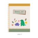 Love it - Oh-ssumthing O-ssum spiral lined grid blank notebook