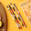 no.6 - Oh-ssumthing O-ssum black 2B pencil set of 4