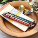no.4 - Oh-ssumthing O-ssum black 2B pencil set of 4
