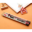 Oh-ssumthing O-ssum natural 2B pencil set of 4