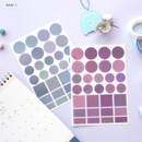 Basic 1 - Oh-ssumthing O-ssum colorchip deco craft sticker set