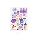 Grape - Oh-ssumthing O-ssum sticker for decoration ver2
