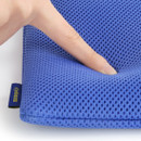 Extra padding layer - Monopoly Air mesh large plain zipper pouch bag