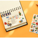 Usage example - Dailylike My buddy shopping removable paper sticker
