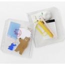 Usage example - 2NUL Zip slide pouch for A6 wide 6-ring binder