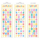 Option - Wanna This Twinkle Alphabet and Number craft deco sticker