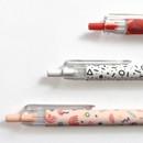 knock retractable pen - O-ssum knock retractable ballpoint gel pen with clip