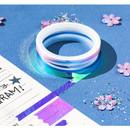 Usage example - O-ssum Shiny aurora masking craft decoration tape set