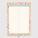 No.5 - Oh-ssumthing O-ssum B5 size grid memo notes notepad