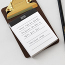Note - 2NUL Drawing memo checklist weekly plan notes notepad