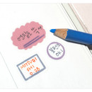 Usage example - Oh-ssumthing O-ssum sticker set for notes