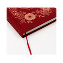 Ribbon bookmark - Anne small hardcover undated monthly planner notebook