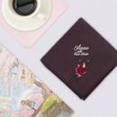 Usage example - Bookfriends Anne with Red Hair cotton handkerchief hankie