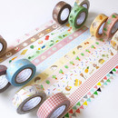 O-CHECK Decorative craft 15mm X 10m masking tape