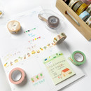Usage example - O-CHECK Decorative craft 15mm X 10m masking tape