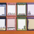 Ardium Color point A5 snap memo quadrille notepad