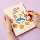 DESIGN IVY Ggo deung o drawing blank notebook notepad ver2
