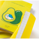 Detail of DESIGN IVY Little Ggo Deung O small grid and lined notebook