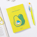 DESIGN IVY Little Ggo Deung O small grid and lined notebook