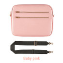 Baby pink - Always with me iPad tablet PC sleeve case cross bag
