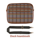 Check houndstooth - Always with me iPad tablet PC sleeve case cross bag