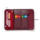 Wine - MINIBUS Dorothy & Alice roll up pencil case pouch