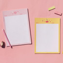 After The Rain Twinkle B5 size grid memo notepad