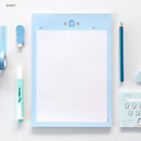 Ghost - ICONIC Sweet B5 size grid notes memo notepad